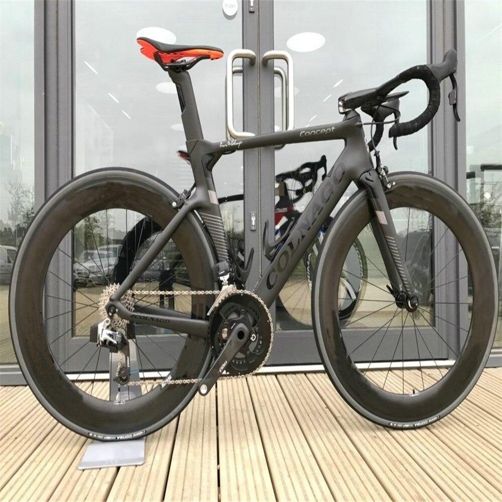 Велосипед с клинчерным Карбоновым покрытием R7010, 88 мм