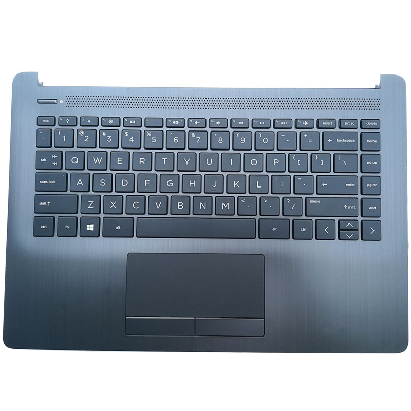 NEW For HP 14-CM 14-CK 240 245 246 G7 Laptop Palmrest Upper Case US Keyboard Touchpad L23241-001 L23491-001 L23239-001 original new for hp 15 cs 15 cw series laptop palmrest upper case us backlit keyboard touchpad l24752 001 sliver
