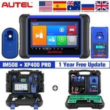 Autel MaxiIM IM508 и XP400PRO OBD2 все системы daignstic сканеры IMMO программирование ключей PK IM608