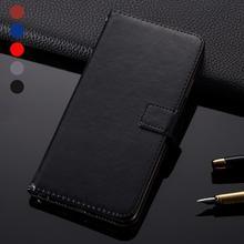 Simple Business Leather Wallet Phone case For Prestigio Grace V7 LTE Muze J5 Muze K3 LTE Wize U3 V3 S Max X Pro Flip holder