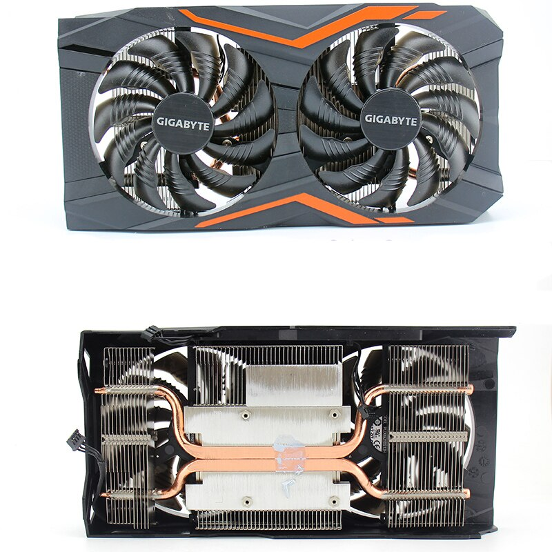 DIY Original for Gigabyte GTX1050Ti G1 Gaming 4G Graphics Video card Radiator Cooler GPU fan