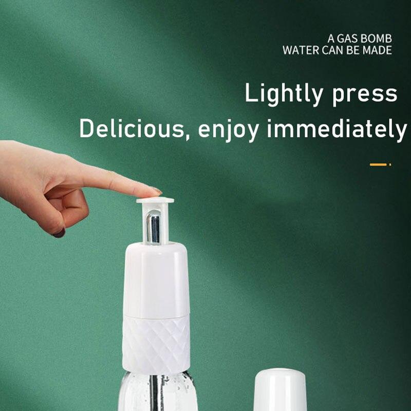 Bangcai المحمولة آلة مياه الصودا CO2 نافورة مشروبات لتقوم بها بنفسك الصودا المشروبات الغازية السفر المنزل Máquina دي ريفرسكوس Pequeña