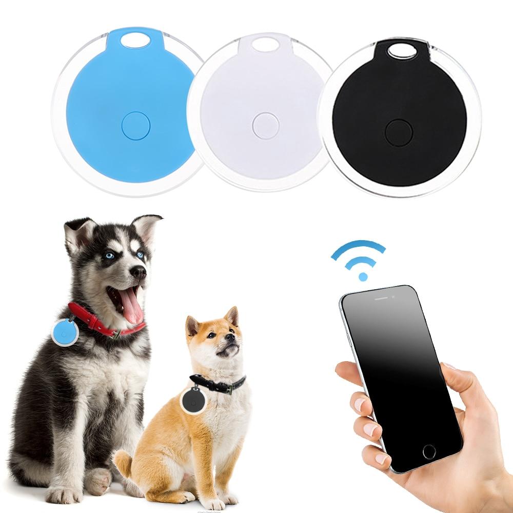 Водонепроницаемый GPS-трекер для домашних животных, мини-устройство для отслеживания собак и кошек, с Bluetooth