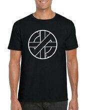 CRASS SYMBOL T-Shirt Punk Rock Logo Anarchy Anarchist Music Unisex Adults Top(1)