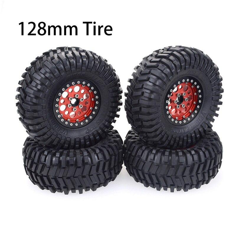 1/10 de 2,2 pulgadas RC rueda de coche neumáticos para Redcat HPI FTX Mauler TRX4 RGT tracción Hobby fundador II Axial SCX10 II carrera vrx