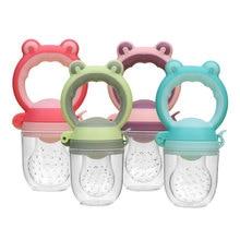Baby Pacifier Fresh Food Nibbler Kids Fruit Feeder Nipples Feeding Baby Teat Pacifier Bottles