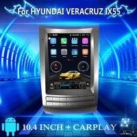 2 din tesla style car radio for hyundai veracruz ix55car stereo multimedia player receiver recorder