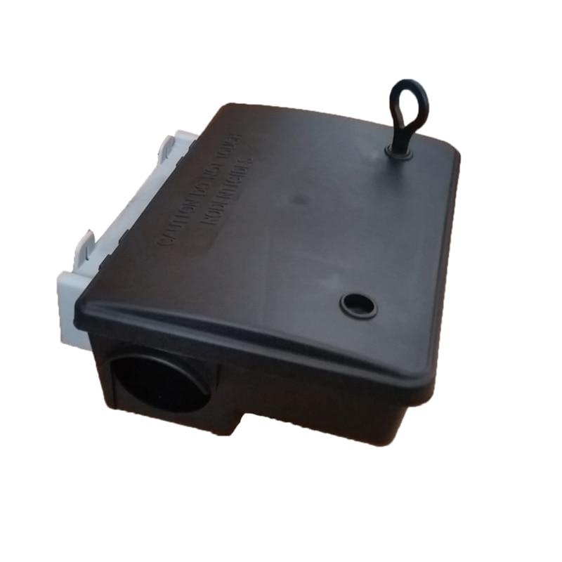 Купить с кэшбэком 1PCS Pest-Control Catching Live Mice tool Rodent Catcher Rats Plastic Mouse Bait Trap Station