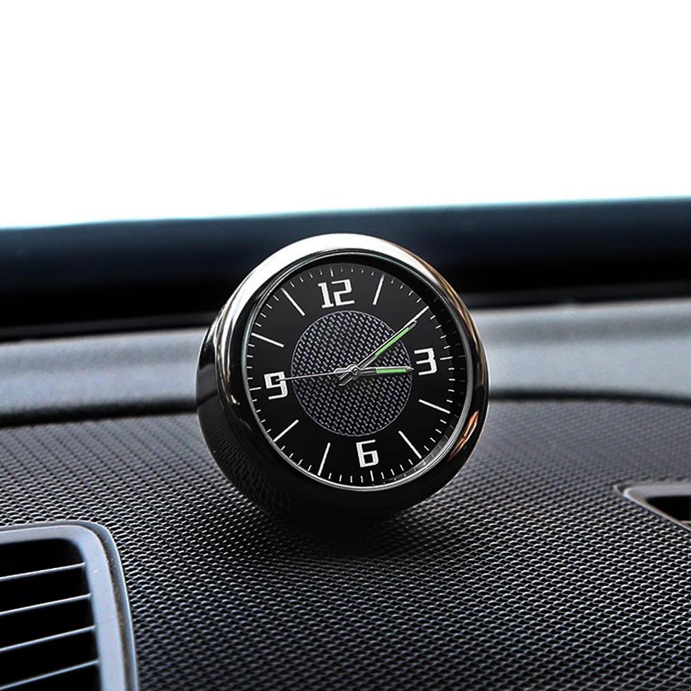 1x Logo de coche reloj tablero salida de ventilación de aire Clip decoración para Ford Focus MK2 MK3 2 3 Fiesta MK7 Ranger Mondeo MK4 Fusion Kuga