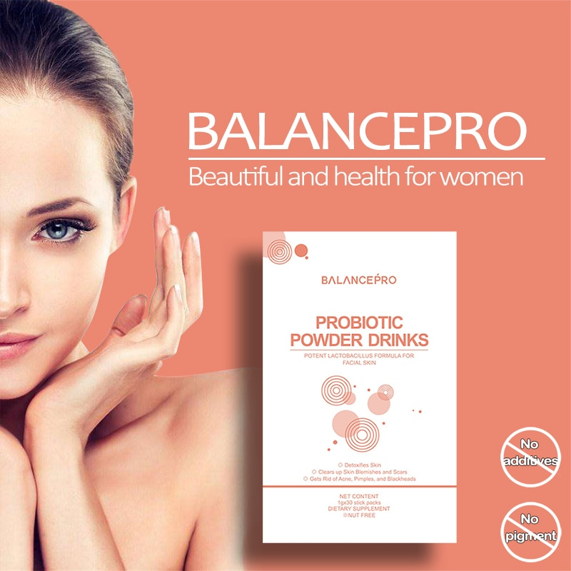 Balance Probiotische Präbiotikum Gesundheit Produkte Für Haut Und GI Gesundheit Fettleibigkeit Pulver Getränke Schönheit und Abnehmen immunität Erhöhen