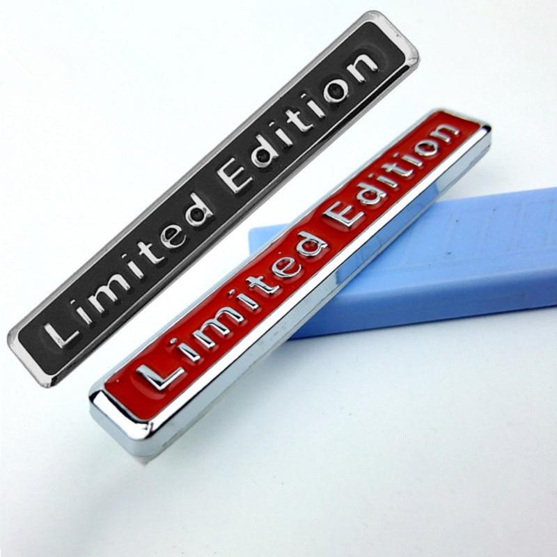 NEW 3D Metal Limited Edition Auto Car Sticker Decal for Jaguar XF XFL XE XJ XJL F-Pace F pace fpace X761 XJ6 XKR XK8 X320 X308