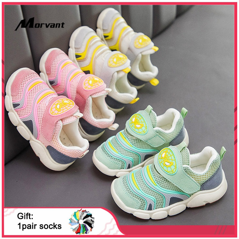 Baby Shoes Mesh Breathable Baby Sneakers Soft sole Shoes First Walkers Non-slip Boys Girls Toddler Sneakers