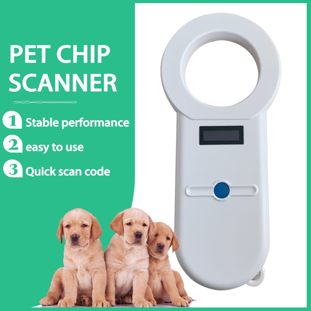 ماسح ضوئي رقمي حساس للحيوانات الأليفة ، ISO11784/5 ، قارئ هوية الحيوانات الأليفة ، جهاز إرسال مستجيب USB ، رقاقة صغيرة محمولة للكلاب والقطط والحصان