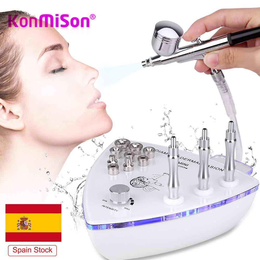 Free Shipping Diamond Microdermabrasion Machine Big Suction Facial Peeling Care Salon Equipment Vacuum Spray Home Use Device