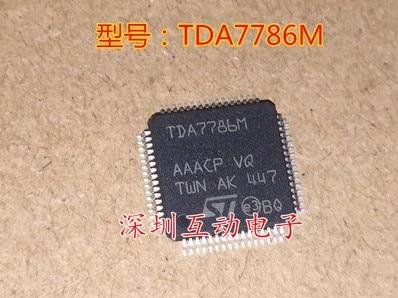 Envío Gratis 5 uds TDA7786M TDA7786 QFP64