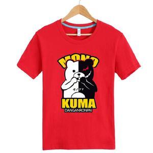 Unisex Anime Danganronpa: Trigger Happy Havoc monokuma Cotton T-Shirt Tee Shirt Top