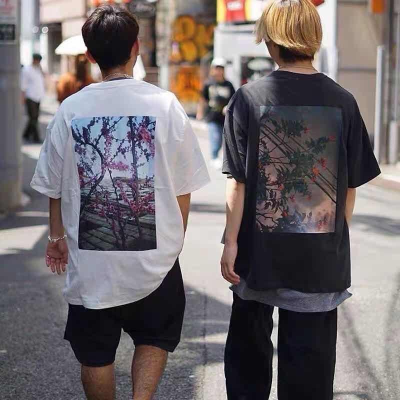 2021 New T-shirt 100% 1:1 basic Kanye West Jerry Lorenzo t shirts loose large cotton short sleeve to