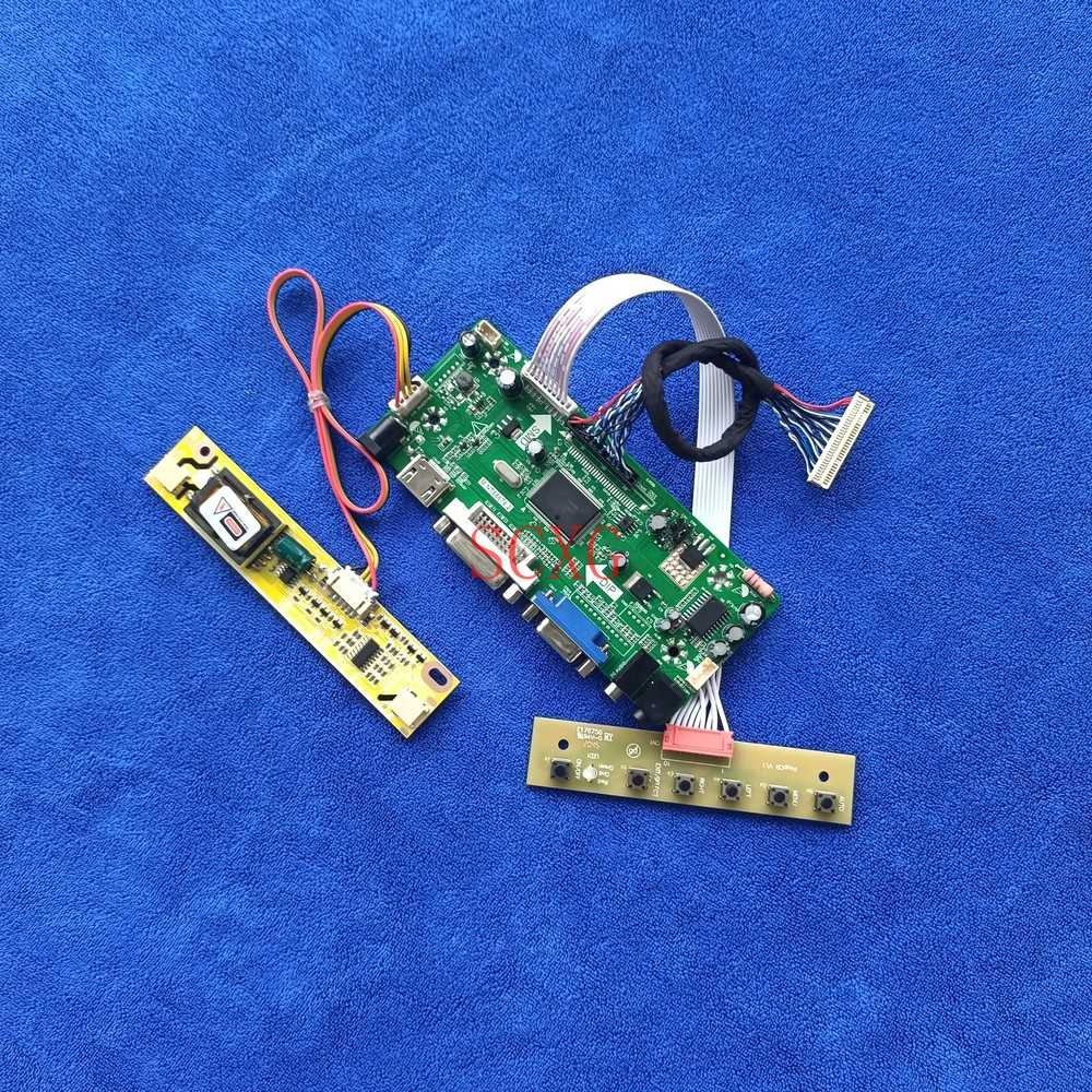 M.NT68676 كارت قيادة LVDS 30-Pin Fit HT156WX1/LM156WH1/M156B1/M156XW01 1366*768 لتقوم بها بنفسك عدة 2CCFL شاشة LCD VGA DVI HDMI-متوافق