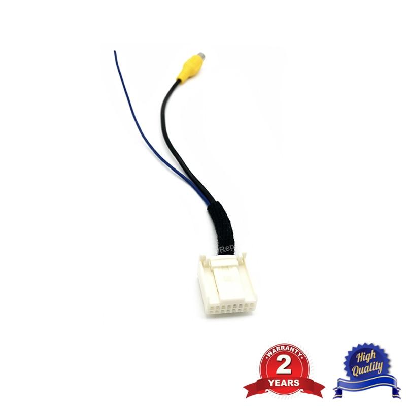 Rear View Camera Cable Adapter For Hyundai Elantra Avante Santa Fe Rear View Camera Video Input Plug 16 Pin Interface
