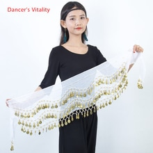 Belly dance belt costumes sequins tassel belly dance hip scarf for women belly dancing belts indain colors 128 coin dance belt