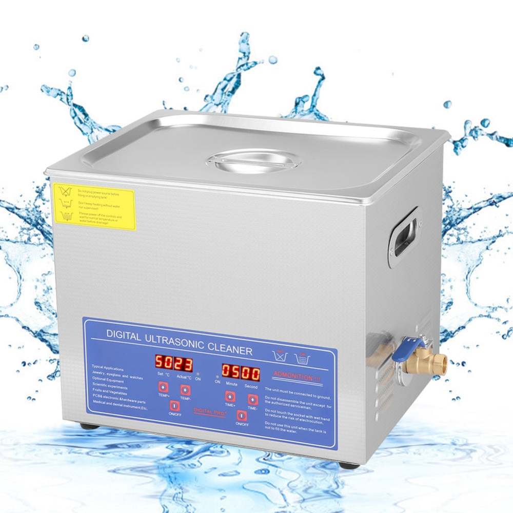 PS 40A Model Digital Pro Ultrasonic Cleaner For Mobile Phone Eyeglass Jewellery Cleaner Machine