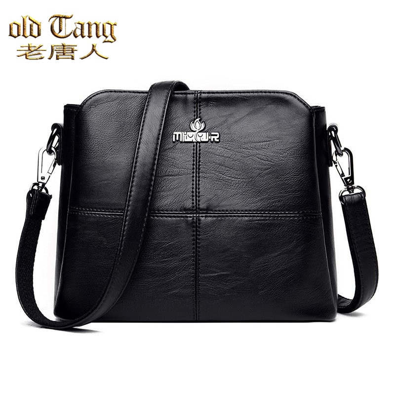 OLD TANG Ladies High Quality Luxury Handbags Pu Leather Shoulder Bags For Women 2020 Large Capacity
