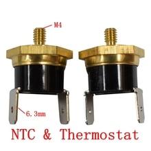 Bouchon de vis de interrupteur de température   KSD301 M4 40/45/50/55/60/65/70/75/80/85/90/100/110C/120/130/150C degrés fermeture normale 10A 250V