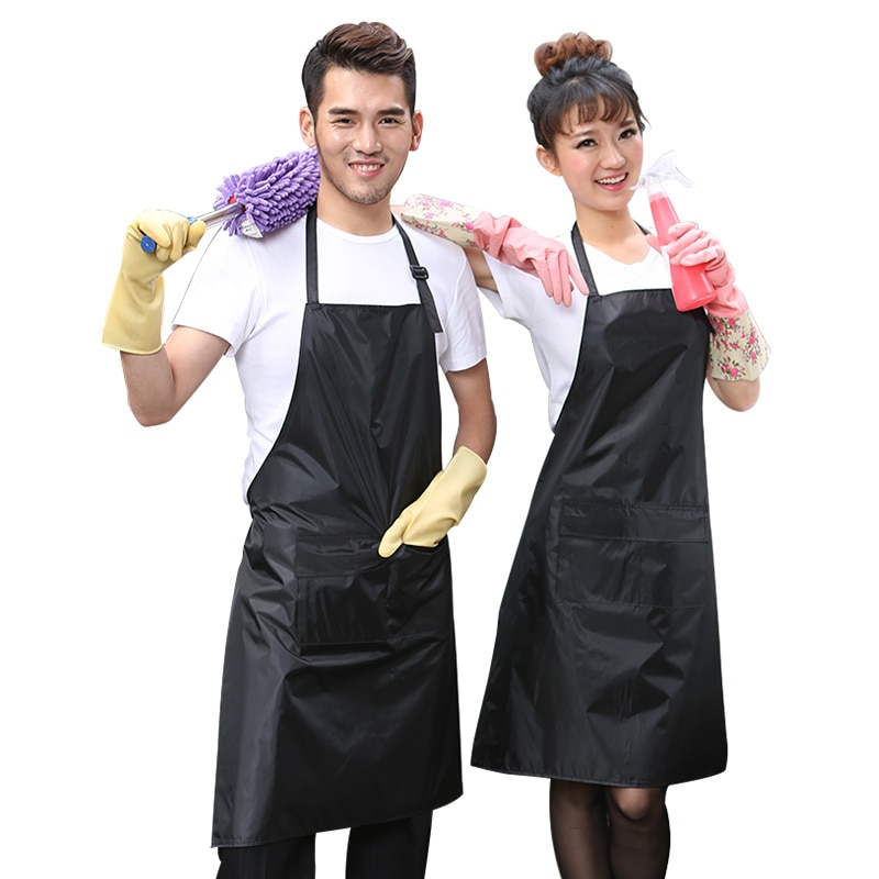 New Waterproof Rubber Vinyl Apron Lab Work Butcher Dog Grooming Cleaning Fish Industrial Chemical Re