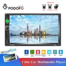 Podofo-autoradio universel, écran tactile HD 7