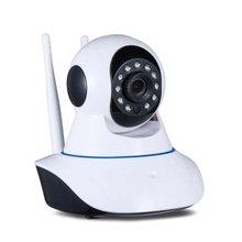 Ip Camera Wi-Fi HD 720p Motorized Ir Lan Infrared With App 360 degree rotating wifi mobile phone remote dual antenna 720P
