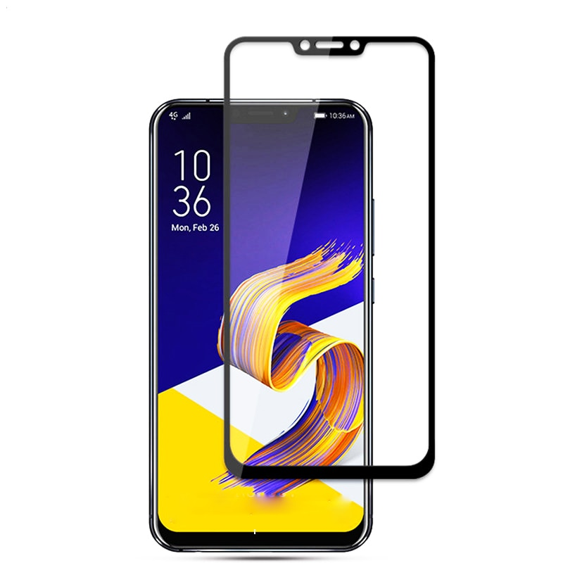 9D Tempered Protective Glass for ASUS Zenfone Max Pro M1 ZB602KL ZB555KL 5 5Z Live L1 ZA550KL ZE620KL ZS620KL Screen Protector