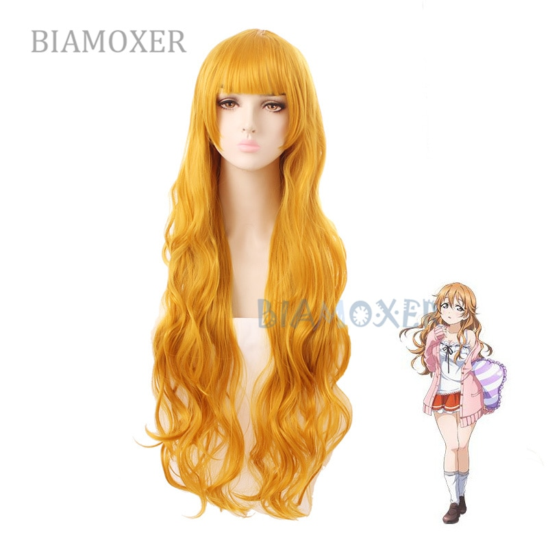 Perruque Cosplay Konoe Kanata rêve parfait projet Cosplay cheveux Konoe Kanata LoveLive PDP