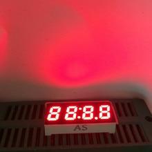 5 pièces 0.25 pouces 7 segments 4 bits horloge LED affichage minuterie rouge 4 chiffres numériques panneaux de LED affichage Cube horloge LED affiche Cathode
