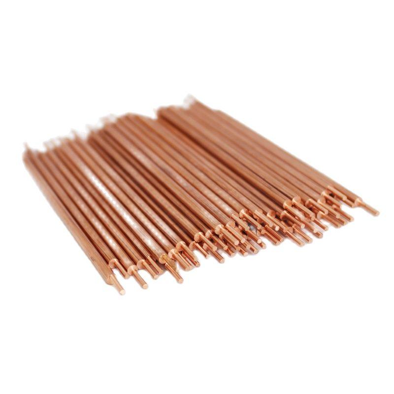 1000pcs Alumina Copper Battery Welding Electrode 3x100mm Point Diameter 1.8mm