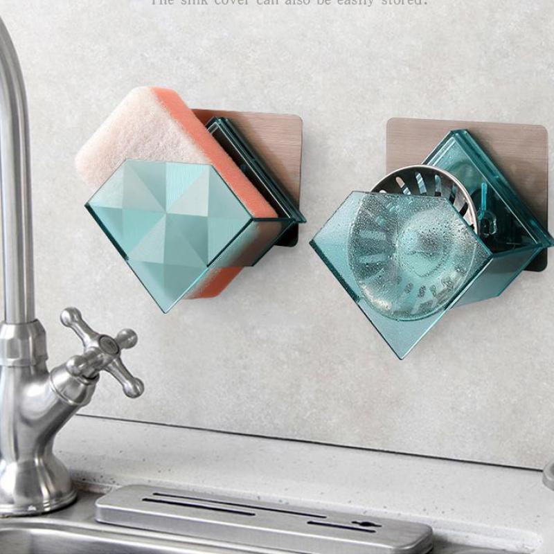 Cremalheiras de especiarias de alumínio utensílios de cozinha rack de armazenamento cabinetswall-montado faca titular forno de microondas armário gancho despensa