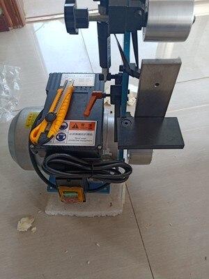 ماكينة الطحن تلميع سطح المكتب 220 فولت حزام ساندر أداة ساندر الخشب مبراة 915*50 مللي متر