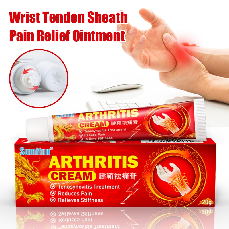 Wrist Tendon Sheath Pain Relief Ointment, For Relieve The Pain Of Wrist And Finger Arthritis Relieve