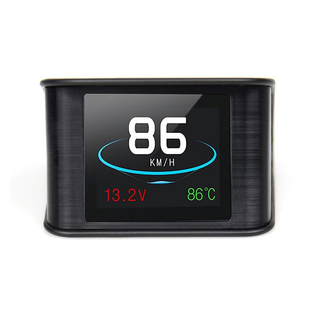 Универсальный Автомобильный дисплей, цифровой GPS-датчик скорости, умный Автомобильный Монитор скорости, автомобильный компьютер, направле...