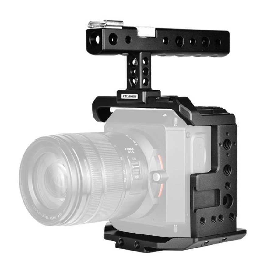 YELANGU C11 Aluminium Alloy Camera Rig Camera Cage with Lifting Handle for Z CAM E2-S6/F6/F8 foto studio Camera Extension Cage enlarge