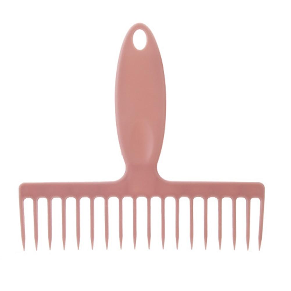 Práctico hogar práctico removedor de vello portátil desplume PP con agujero escoba peines raspado herramienta de limpieza cepillo barrido