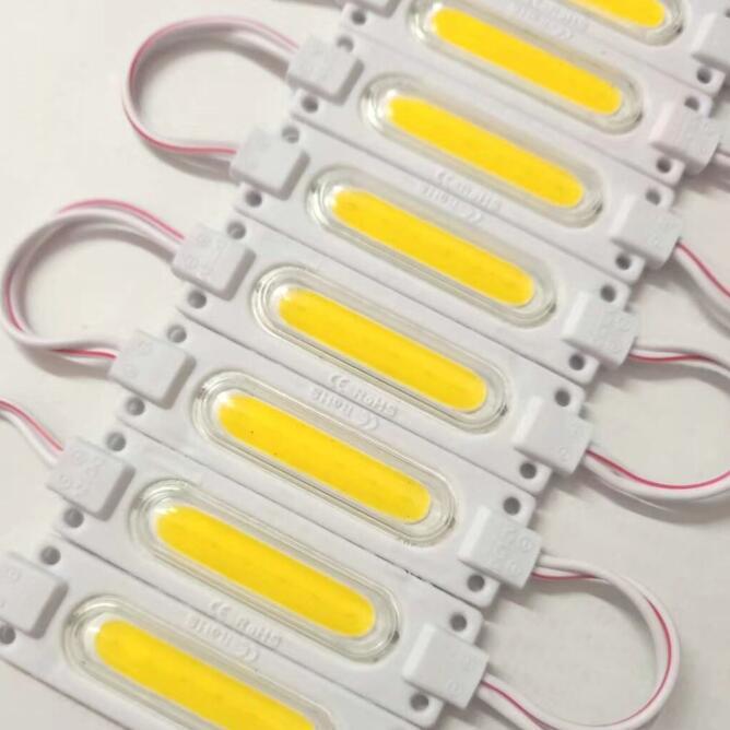 COB Led-modul String Licht mit Objektiv DC12V 6LED Wasserdicht für Außenwerbung Zeichen Shop Banner Led-modul Streifen Lampe