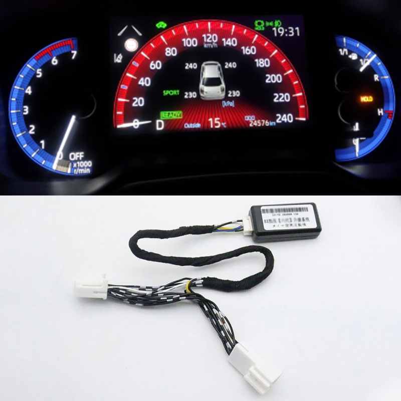 Car TPMS Tire Pressure Monitoring Display System Auto Tire Pressure Monitor Security Alarm For Toyot