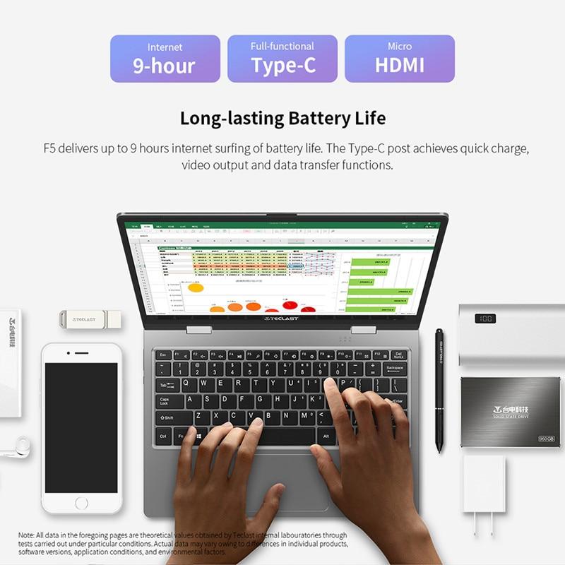 Teclast F5 Laptop 11.6