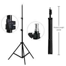 2M trépied de support de lumière pour Studio Photo Softbox vidéo Flash parapluies réflecteur éclairage Bakcground support
