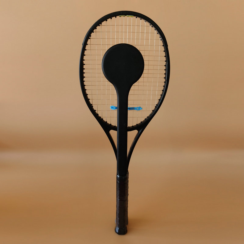 New 1PC New Arrival Carbon Fiber Tennis Sweet Spot Racket Graphite Bullseye Training Racket Accuracy Practice Racket