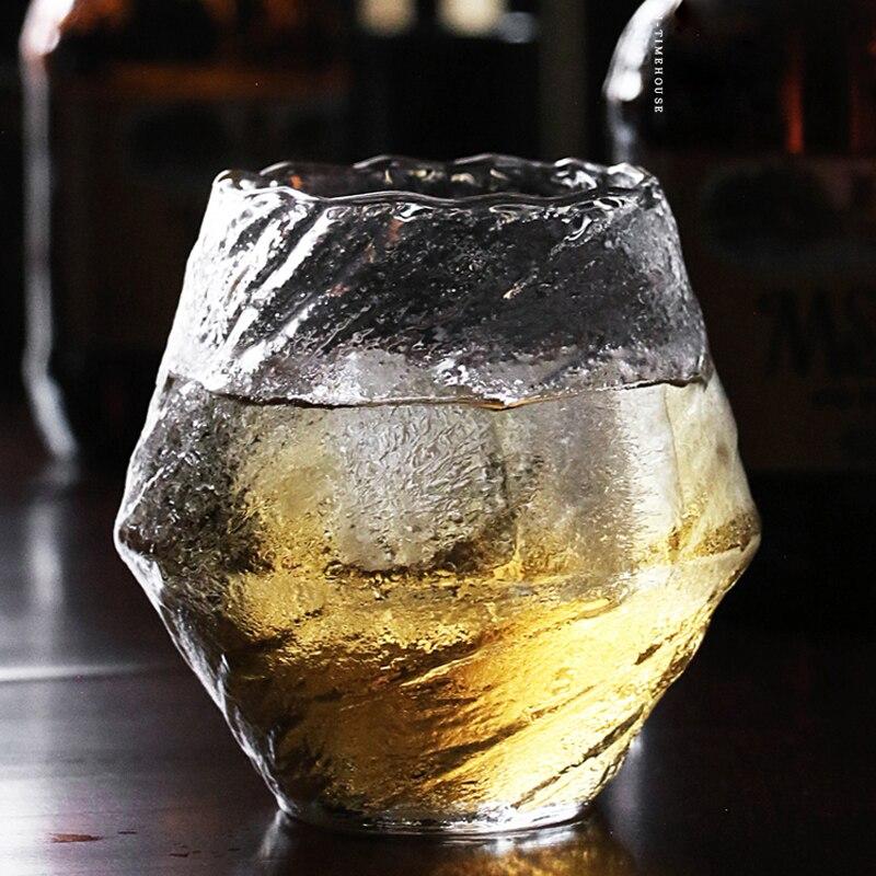 Copos de vidro de cristal de diamante copos de vidro de cristal copos de vidro copos de tiro transparente