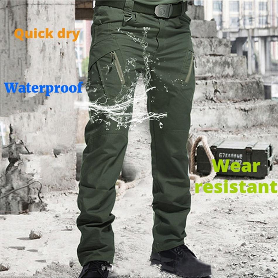 Чоловічі тактичні штани з кількома - Чоловічий одяг - фото 4
