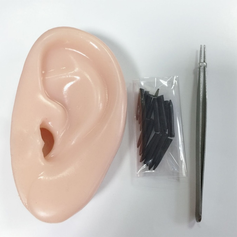 Pimple Popper Toys Ears Shaped Pimple Popping Decompression Acne Blackheads Remover Fun Toy enlarge