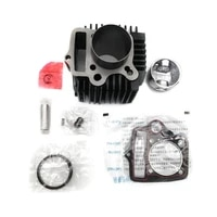 brand new motorcycle iron cylinder kit 52 4mm fits for zongshen loncin lifan ws110 jh110 c110 110cc