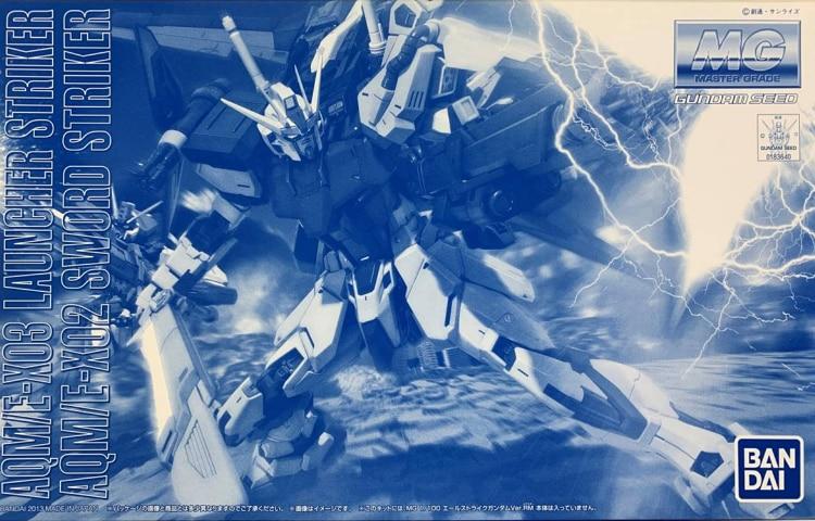 Bandai-نموذج PB MG 1/100 HD Strike Gundam RM ، مجموعة ملحقات السيف ، الإصدار الأصلي